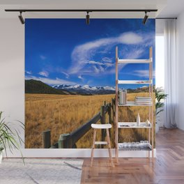 Distant Bighorns - Mountain Scenery in Northern Wyoming Wall Mural