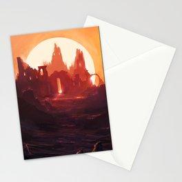 Fantasy Ruins Stationery Cards