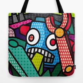 Artsy Bot Tote Bag