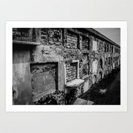 Tales from the Crypts Art Print