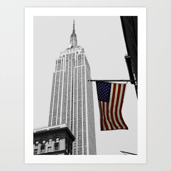 Empire State Building, New York Art Print