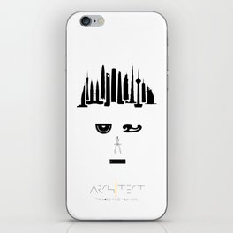 the world inside your head | Architect iPhone Skin