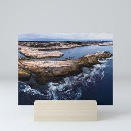 Polly's Cove Panoramic Mini Art Print