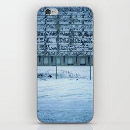 Warehouse Wall, Detroit. iPhone Skin