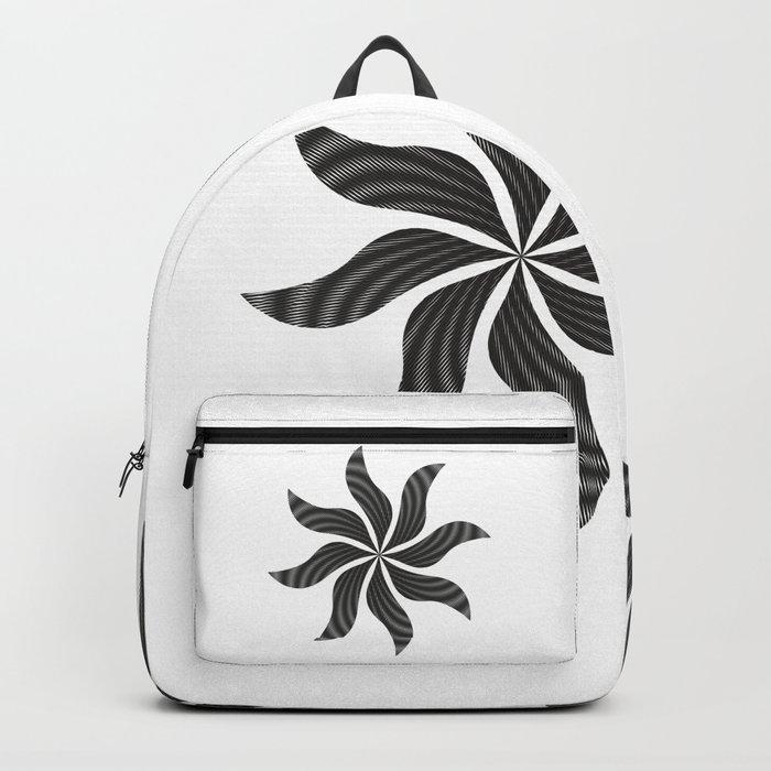 black fantasy Backpack