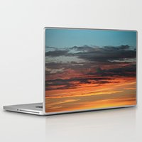 clouds Laptop & iPad Skins featuring CLOUDS by Dr. Lukas Brezak