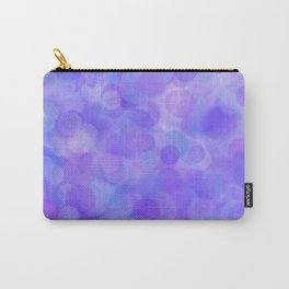 Ultra Violet Pastel Polka Dots Carry-All Pouch