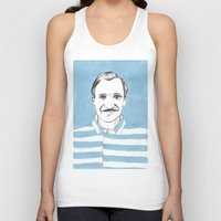 budapest hotel Tank Tops featuring Ralph Fiennes. The Grand Budapest Hotel.  by Elena O'Neill
