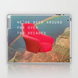 We've been around for over two decades (Red chair and the Grand Canyon) Laptop & iPad Skin