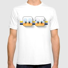 daisy and donald sweetheart ducks White Mens Fitted Tee MEDIUM