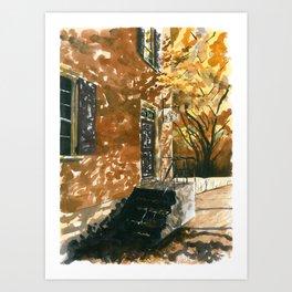 Apothecary's Shop Art Print