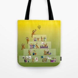 Becoming a Success Tote Bag