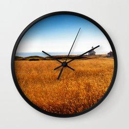 Safe At Home Wall Clock