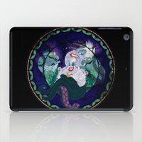 ursula iPad Cases featuring Ursula by Mazuki Arts
