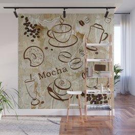 Grunge Coffee Background - 04 Wall Mural