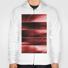 Red Plasma Storm (Five Panels Series) Hoody