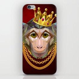 The King of Monkeys iPhone Skin