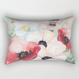 Flowers bouquet #54 Rectangular Pillow