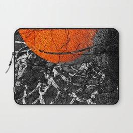 Basketball Art, Sports Artwork Laptop Sleeve
