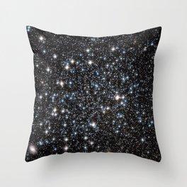 Galaxy Glitter Throw Pillow