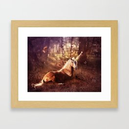 Unicorn, Part 1 The Ancients Series  Framed Art Print