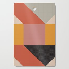 Abstract geometry Cutting Board