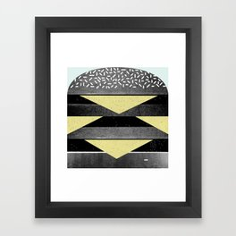 Burger Framed Art Print