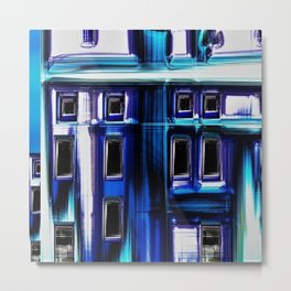 Blues City by Jeanpaul Ferro Metal Print