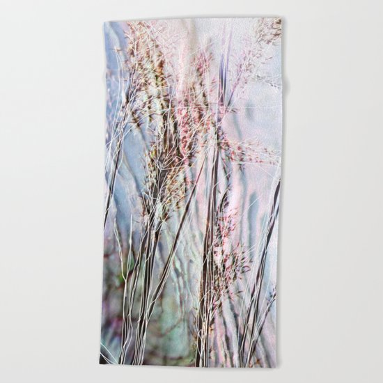 Magical Reeds - JUSTART (c) Beach Towel