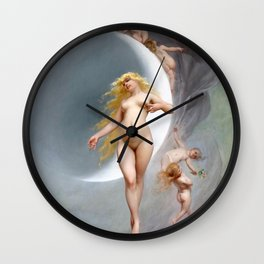 THE PLANET VENUS - LUIS RICARDO FALERO Wall Clock
