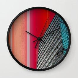 Gran Via Bcn Wall Clock