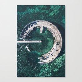 Kastrup Sea Bath Canvas Print