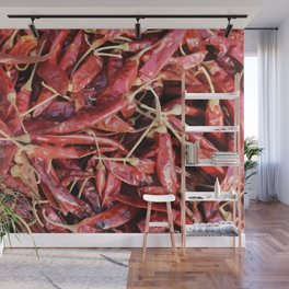 Chili Chipotle red hot Wall Mural