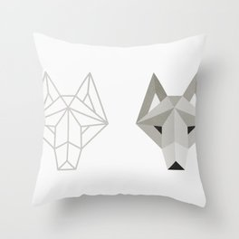Wolfborg Throw Pillow
