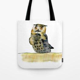 Edward the Eagle Owl Tote Bag