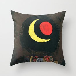 Strong Dream Paul Klee Throw Pillow