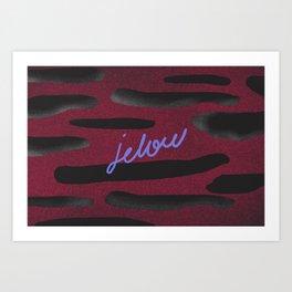 JELOU Art Print