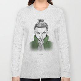 Shikamaru Nara - what a drag Long Sleeve T-shirt