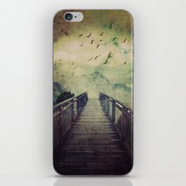 The Misty Mountains Call iPhone Skin