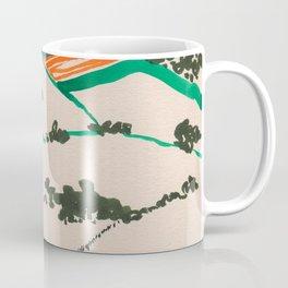 To the beach -Minimalist Landscape Coffee Mug