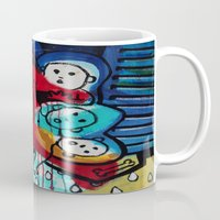 madonna Mugs featuring Lady Madonna by Lisa Brown Gallery