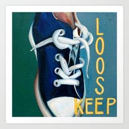 Lauren Nemchik - Keep Loose Art Print