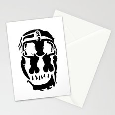 Surrealistic skull inspired by Salvador Dali photo Stationery Cards