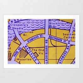 Streets of London Art Print