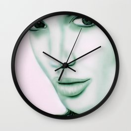 Angelina Jolie Wall Clock