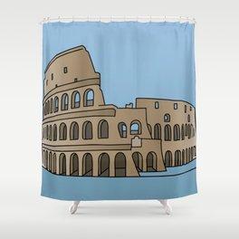 Colosseum Rome Shower Curtain