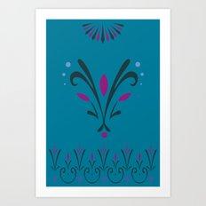 Elsa's Coronation Art Print