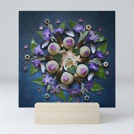 Nature Mandala: April II Mini Art Print