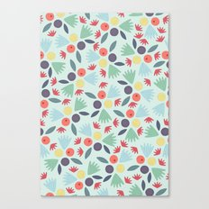 Berries & Leaves Canvas Print