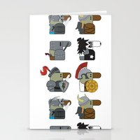 heavy metal Stationery Cards featuring Heavy Metal by nobleplatypus